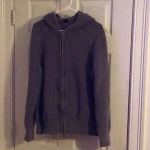 GAP Cable Knit Zip Up